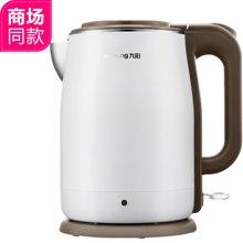 九阳(Joyoung)电热水壶食品级304不锈钢双层防烫无缝内胆1.5L开水煲K15-F5