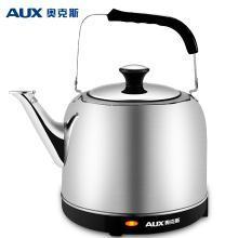 奥克斯(AUX) 电热水壶 304不锈钢烧水壶 大容量煲5L水壶 AK-15N01