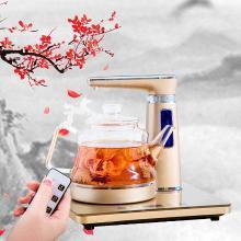 心好抽水式液体加热器 XH-QZD-F1 全自动上水电热壶玻璃茶具  1.0L/1000W