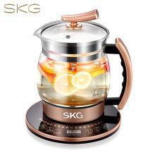 SKG 养生壶煎药壶煮茶器2L大容量玻璃电水壶304不锈钢发热盘8064燕窝壶
