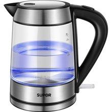 SUPOR/苏泊尔 高硼硅玻璃电热水壶自动断电开水壶SWF17E26A