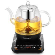 Royalstar/荣事达1L养生壶YSH1011煮茶壶  透明玻璃壶体+黑色底座