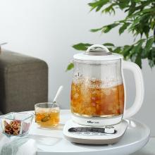 小熊(Bear) 养生壶煮茶壶花茶壶煎药壶全自动家用玻璃一体1.8升电热水壶保温 YSH-B18P1