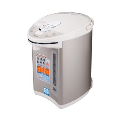 美的(Midea)电热水瓶304不锈钢四段保温家用电水壶5L大容?#21487;?#27700;壶PF702-50T