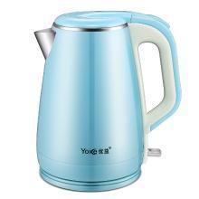 优益 Y-DSH8电热水壶 304不锈钢烧水壶 保温电热开水壶自动断电