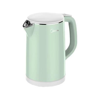 美的(Midea)電水壺 304不銹鋼 防干燒自動斷電熱水壺燒水壺 家用電熱水壺 HJ1506a