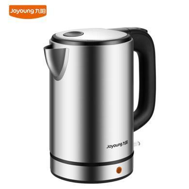 九陽(Joyoung)電熱水壺K17-S5開水煲食品級304不銹鋼無縫內膽1.7L