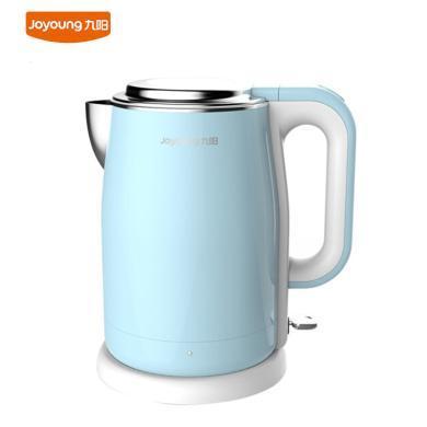 九陽(Joyoung)電水壺燒水壺自動斷電食品級304不銹鋼開水煲1.7升K17-F5