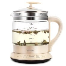 SUPOR/苏泊尔 SWF18E30A养生壶全自动加厚玻璃电水壶煮茶器煎药壶电水壶