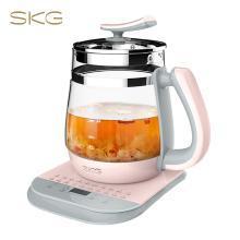 SKG 养生壶加厚玻璃全自动多功能黑花茶煮茶壶纳米陶瓷涂层防糊底 8131