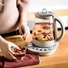 北鼎 炖燕窝养生壶K153 迷你多功能加厚玻璃煮茶器 保温电热水壶花茶壶煮茶壶