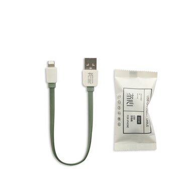 冇心新品 纯系列20cm数据线适用于iPhone安卓苹果手机数据线