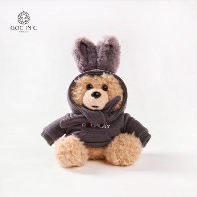 GOC IN CxDUEPLAY新品兔子熊充電寶潮流卡通毛絨移動電源