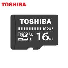 东芝(TOSHIBA)16G 读速100MB/s TF(microSD)存储卡 UHS-I Class10 高速存储卡