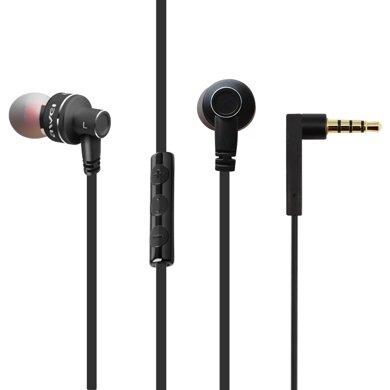 用維 ES-10TY有線耳機入耳式重低音帶麥線控耳機蘋果華為小米手機通用