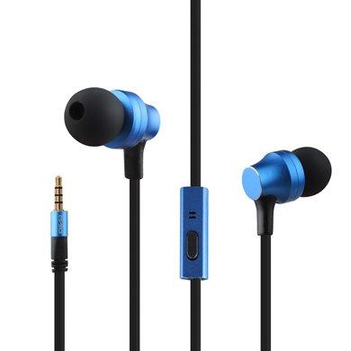 用維 ES-910i有線耳機入耳式帶麥線控金屬耳機重低音蘋果華為小米手機通用