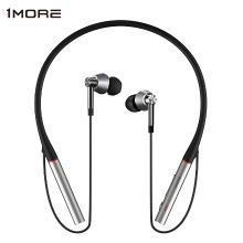 万魔(1MORE) E1001BT三单元圈铁蓝牙耳机LDAC入耳式HiFi音乐颈挂智能语音耳塞
