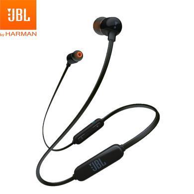 JBL T110BT 无线蓝牙 入耳式耳机 运动耳机 手机耳机 游戏耳机