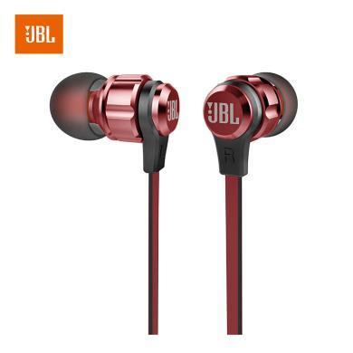 JBL T180A 立体声入耳式耳机 耳麦 运动耳机 带麦可通话 游戏耳机