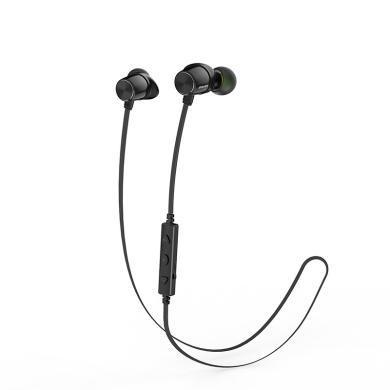 用維WT30無線運動藍牙耳機金屬磁吸頸掛式防水耳麥安卓蘋果手機耳機通用