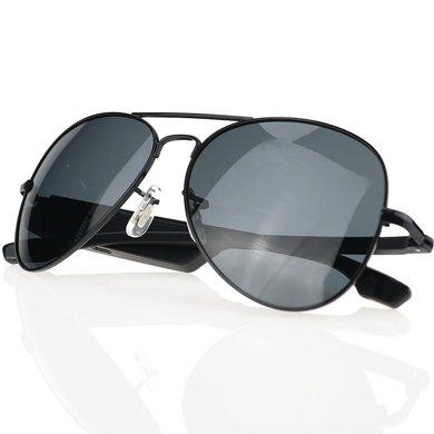 leapower 藍牙智能眼鏡 男女休閑太陽偏光墨鏡 立體聲耳機聽歌接打電話K3-A