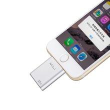 MiLi米力苹果认证iData苹果手机U盘32G iPhone安卓手机平板通用 银色