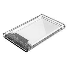 奥??疲∣RICO)2139U3 2.5英寸全透视USB3.0移动硬盘盒 SATA串口笔记本移动硬盘盒