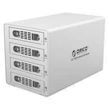 奥睿科(ORICO)3549RUS3 3.5英寸全铝高速usb3.0磁盘阵列 四盘位硬盘柜多盘位raid硬盘盒外置盒