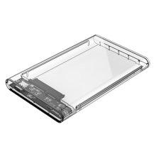 奥??疲∣RICO)2139C3 2.5英寸全透视Type-C移动硬盘盒 SATA串口笔记本移动硬盘盒