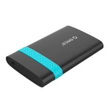 奥睿科(ORICO)2538C3 2.5英寸Type-C笔记本移动硬盘盒免工具SATA串口固态SSD硬盘盒