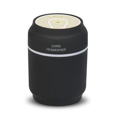易拉罐加濕器三合一迷你便攜家用靜音臥室桌面小型車載USB加濕器