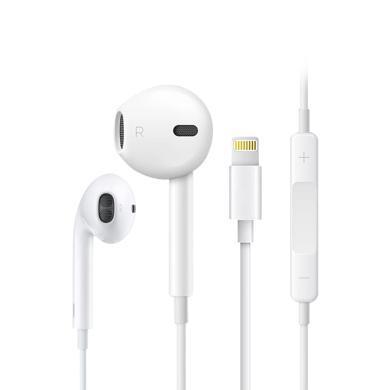 蘋果原裝耳機iphone7 plus手機線控 8/X正品iPhone7耳機線麥8p XS MAX XR正品11通話耳塞