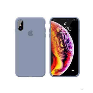 CIAXY iPhoneX/XS全包手機殼適用XR液態硅膠殼蘋果XS MAX 6/7/8plus
