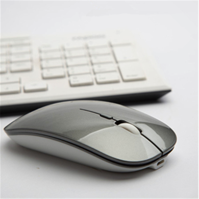 CIAXY 超薄新款2.4G辦公無線靜音充電鼠標筆記本家用商務