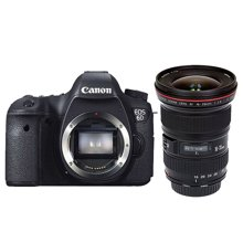 佳能(Canon) EOS 6D 单反套机(16-35mm f/2.8L II USM 广角变焦镜头)