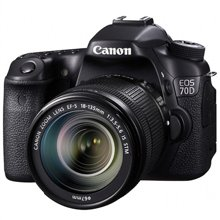 佳能(Canon)EOS 70D 单反套机 (EF-S 18-135mm f3.5-5.6 IS STM镜头)