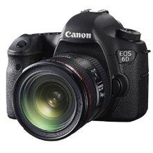 佳能(Canon) EOS 6D 单反套机(EF 24-70mm f/4L IS USM 镜头)