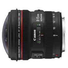 佳能(Canon) EF 8-15mm f/4L USM 鱼眼镜头