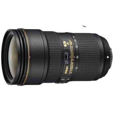 尼康 Nikon AF-S 尼克尔 24-70mm f/2.8E ED VR 镜头  十年磨一剑,只为匠者心中的理想!2470,你值得拥有!