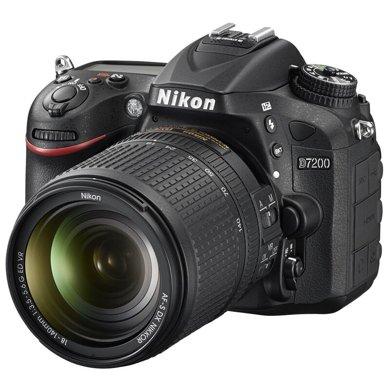 尼康(Nikon)D7200 相機 單反相機 單反套機 (AF-S DX 尼克爾 18-140mm f/3.5-5.6G ED VR)