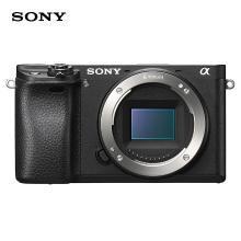 索尼(SONY)ILCE-6300 APS-C微单数码相机单机身 黑色(约2420万有效像素 4K视频 a6300/α6300)