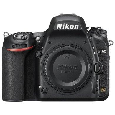 尼康(Nikon) D750 机身 全画幅单反相机 约2,432万?#34892;?#20687;素 51点自动对焦 可翻折屏 内置WiF