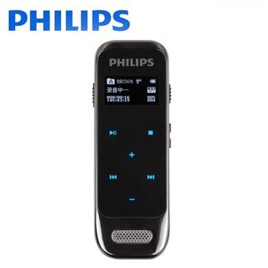 飛利浦(PHILIPS)VTR6600 8GB 學習記錄 高清觸摸微型數字降噪錄音筆