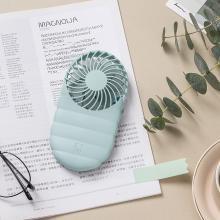 佐敦朱迪Jordan&Judy便攜小風扇 迷你小風扇便攜式USB可充電學生辦公室隨身手持靜音風扇藍色