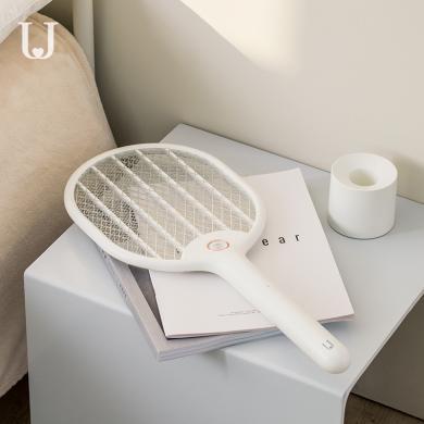 佐敦朱迪Jordan&Judy充电式电蚊拍 锂电池电蚊器灭苍蝇拍家用打蚊子神器灭蚊拍 (无底座款)