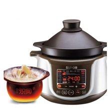 SUPOR/苏泊尔 TG30YC1-60电炖锅全自动煲汤锅电砂锅bb煲紫砂陶瓷