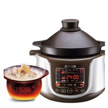 SUPOR/蘇泊爾 TG30YC1-60電燉鍋全自動煲湯鍋電砂鍋bb煲紫砂陶瓷