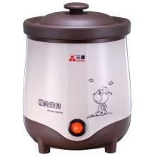 三源电炖锅0.8L机械紫砂汤、粥煲BB煲TGJ08-SA1