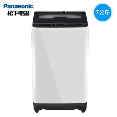 Panasonic/?#19978;??#19978;?#27927;衣机XQB70-Q7H2F/Q7521 全自动波轮洗衣机7KG家用新品