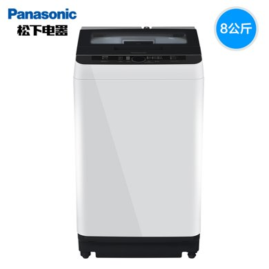 Panasonic/?#19978;??#19978;?#27927;衣机 XQB80-Q8H2F全自动波轮洗衣机8KG大容量
